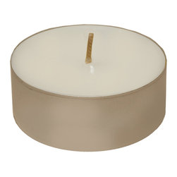 LumaBase Luminarias - Mega TeaLight Candles 12 Count - Illuminate a a party by bringing twinkling light with 12 hour extra large tea light candles.