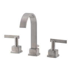 "Belle Foret - Belle Foret BFL400SN Widespread Bathroom Sink Faucet in Satin Nickel - HDModel: - Belle Foret BFL400SN Widespread Bathroom Sink Faucet in Satin Nickel - HDModel: FW0C4202SNThe Belle Foret collection includes a full range of kitchen and bath faucets, copper basins, bathtubs, and bath vanities in timeless finishes to perfectly complement any décor. True to the Country French design, these distinctively elegant faucets and fixtures are graced by the rich patina of time - without the wait or expense.This Belle Foret 8"" widespread faucet is the perfect choice for your bathroom makeover. Its modern design will add a sleek look to your bathroom. Matching bath accessories are available.Belle Foret BFL400SN Widespread Bathroom Sink Faucet in Satin Nickel - HDModel: FW0C4202SN, Features:• Lavatory Faucet"