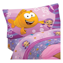 Franco Manufacturing Company Inc - Bubble Guppies Fun 3pc Twin-Single Bed Sheet Set - FEATURES: