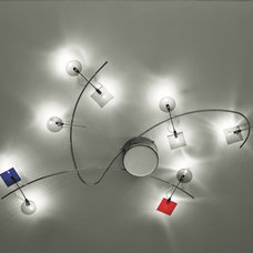 Eclectic Ceiling Lighting by Lights On