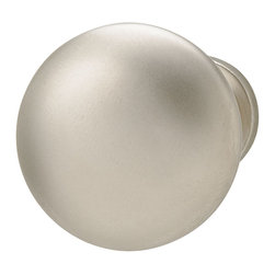 Hafele - Hafele 134.06.641 Matte Nickel Cabinet Knobs - Hafele item number 134.06.641 is a beautifully finished Matte Nickel Cabinet Knobs. Product Diminsion(s): Hole Spacing: 88.9 mm. / 3 1/2 in.Diameter: 25.908 mm. / 1 1/32 in.Projection: 66.548 mm. / 2 5/8 in.