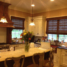 Roman Shades by BRESLOW HOME DESIGN CENTER