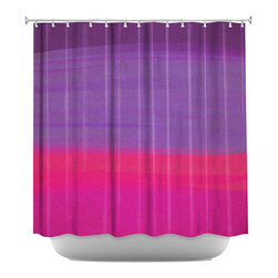 DiaNoche Designs - Shower Curtain Artistic - Skies the Limit VIII - DiaNoche Designs works with artists from around the world to bring unique, artistic products to decorate all aspects of your home.  Our designer Shower Curtains will be the talk of every guest to visit your bathroom!  Our Shower Curtains have Sewn reinforced holes for curtain rings, Shower Curtain Rings Not Included.  Dye Sublimation printing adheres the ink to the material for long life and durability. Machine Wash upon arrival for maximum softness on cold and dry low.  Printed in USA.