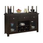 Pulaski - Pulaski Del Ray Buffet in Rich Wood Tones - Pulaski - Buffet Tables & Sideboards - 512302