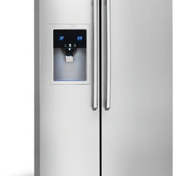 Counter-Depth Side-By-Side Refrigerator with Wave-Touch® Controls by Electrolux - Perfect Temp® Drawer with Luxury-Close