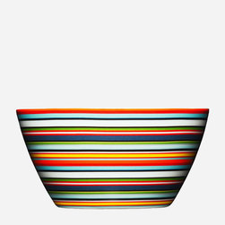 Origo Bowl, Orange - The first time I saw these vividly striped bowls I knew I had to have them. They make my morning cereal that much more enjoyable.
