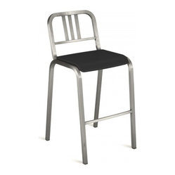 Nine-0 Stacking Bar Stool, 3 Bar Back