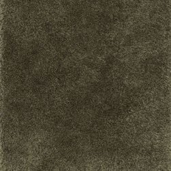"""Loloi - Loloi Fresco Shag FG-01 (Bronze) 3'6"""" x 5'6"""" Rug - The new Fresco Shag Collection is hand-tufted in China of 100-percent polyester. Thin and thick yarns strategically are tufted into place for a textured look that is totally chic. Surprisingly affordable, Fresco shags come in a lively variety of colors: mocha, storm, red, ivory, beige, bronze, ash, sea-foam green and peacock."""