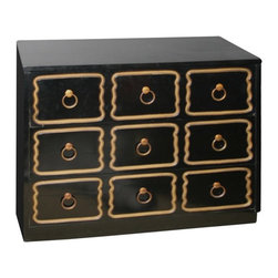 Midcentury Dresser by Dorothy Draper - This Espana Collection chest is such a classic. Designed by the very first interior designer Dorothy Draper, it's a must-have in any high-style home.