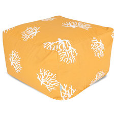 Beach Style Outdoor Footstools And Ottomans by Majestic Home Goods