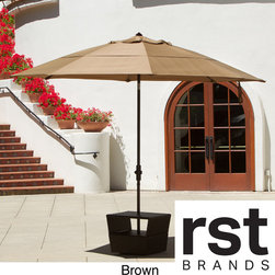 RST Brands - Terrace Market 10.5-foot Diameter Umbrella - When the sun gets to be too much,patio umbrellas are a great solution to provide an area to cool off. This 10.5' diameter umbrella is available in a wide array of colors for a lively addition to your outdoor space.