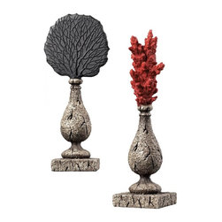 Sterling Industries - Coral Finials - Coral Finials