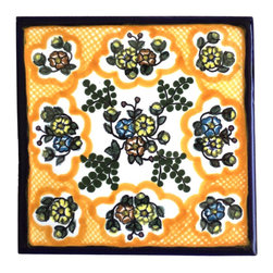 Puebla Tile - Authentic Spanish Colonial Talavera Tile from Puebla - Talavera has erroneously been used to describe all Mexican tile . Authentic Talavera comes from the city of Puebla and the nearby communities of Atlixco, Cholula, and Tecali, because of the quality of the natural clay found there and the tradition of production which goes back to the 16th century.