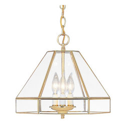 Designers Fountain - Designers Fountain 7031 Three Light Up Lighting Mini Chandelier - Features: