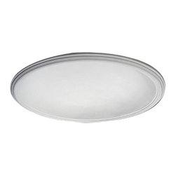 "Ekena Millwork - Recessed Smooth Ceiling Dome, 2 1/2""W Trim (40""Diameter x 7 3/4""D) - 44 1/8""OD x 39""ID x 8 3/8""D, Recessed Smooth Ceiling Dome, 2 1/2""W Trim (40""Diameter x 7 3/4""D Rough Opening). Urethane ceiling domes enhance interiors with rich texture and traditional appeal. Many of our urethane ceiling domes include classic decorative details, ranging from floral motifs to crisp moulding. Whether you seek something subtle or ornate, we have a urethane ceiling dome for you. Each ceiling dome is factory primed and ready for your paint or faux finish. Each dome is manufactured out of a high density urethane foam, which is great for durability, but is also lighter than other materials to make installation a snap. Enhance your room with a beautiful ceiling dome focal piece."