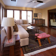 Eclectic Living Room by Olamar Interiors
