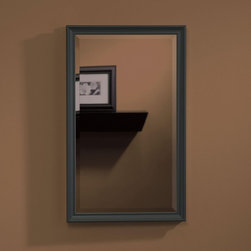 Lighthouse Distribution Corp - Broan-Nutone Studio V Series 15W x 25H in. Recessed Medicine Cabinet S568N244SS - Shop for Bathroom Cabinets from Hayneedle.com! Broan-Nutone Studio V Series Recessed Medicine Cabinet - 15W x 25H in. are the most popular and versatile cabinets available and you know why: they fit anywhere and with a grand variety of frame finishes they match anything. New metal-finish frames in a sleek contemporary style give you a world of options. There's a sure fit for you. Each cabinet features at least three adjustable glass shelves (the larger sizes have four).The sturdy door opens a full 170 degrees on Euro-style hinges. Light-gathering mirrors on the door interior and cabinet back add a roomy bright feel. The Studio V is just right.Size Guidelines: For cabinet size 15W x 4D x 25H inches wall opening should be 14.25W x 4D x 24H inchesAbout Broan-NuToneBroan-NuTone has been leading the industry since 1932 in producing innovative ventilation products and built-in convenience products all backed by superior customer service. Today they're headquartered in Hartford Wisconsin employing more than 3200 people in eight countries. They've become North America's largest producer of medicine cabinets ironing centers door chimes and they're the industry leader for range hoods bath and ventilation fans and heater/fan/light combination units. They are proud that more than 80 percent of their products sold in the United States are designed and manufactured in the U.S. with U.S. and imported parts. Broan-NuTone is dedicated to providing revolutionary products to improve the indoor environment of your home in ways that also help preserve the outdoor environment.