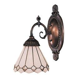 Elk Lighting - Elk Lighting 071-TB-04 Mix-N-Match Traditional Wall Sconce - Mix-N-Match 1-Light Sconce In Tiffany Bronze
