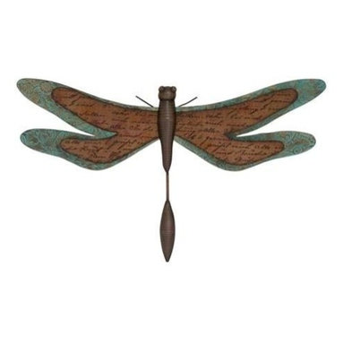 Benzara - Decoflair Capiz Decorative Dragonfly - Decoflair Capiz Decorative Dragonfly. The grace and beauty of this dragonfly will surely delight any dragonfly lover. Some assembly may be required.