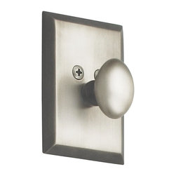 Nostalgic Warehouse - Nostalgic New York Single Cylinder Deadbolt Keyed Alike in Antique Pewter - The clean lines and tailored style of the New York Single Cylinder Deadbolt in antique pewter have a distinct look that will last for years. Keyed alike. Made of solid (not plated) forged brass for durability and beauty.