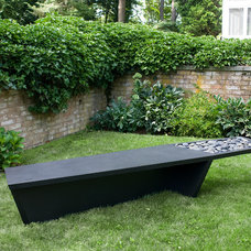 Contemporary Outdoor Stools And Benches by DESU Design