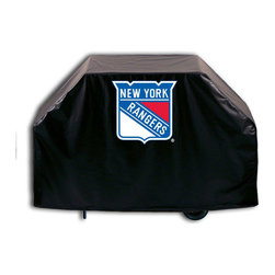 "Holland Bar Stool - Holland Bar Stool GC-NYRang New York Rangers Grill Cover - GC-NYRang New York Rangers Grill Cover belongs to NHL Collection by Holland Bar Stool This New York Rangers grill cover by HBS is hand-made in the USA; using the finest commercial grade vinyl and utilizing a step-by-step screen print process to give you the most detailed logo possible. UV resistant inks are used to ensure exeptional durablilty to direct sun exposure. This product is Officially Licensed, so you can show your pride while protecting your grill from the elements of nature. Keep your grill protected and support your team with the help of Covers by HBS!"" Grill Cover (1)"