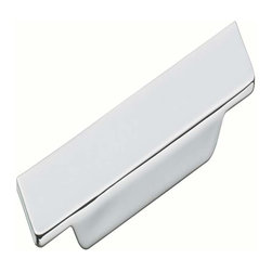 Schwinn Hardware - Schwinn Hardware Surfboard Pull, 4 2/3 Inch Polished Chrome - Schwinn Hardware Surfboard Pull, 4 2/3 Inch Polished Chrome