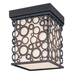 Troy Lighting - Troy Lighting C5010 Aqua Exterior 1 Light Flush Mount Outdoor Ceiling Fixture - Troy Lighting C5010 1 Light Outdoor Ceiling FixtureFeatures: