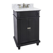 Lyn Design Van057 T Mw White Marble Top This 24 Wide Mdf Vanity