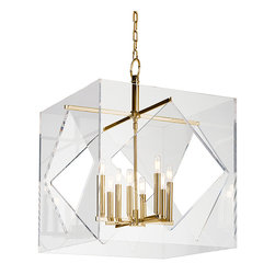 HUDSON VALLEY LIGHTING - Hudson Valley Lighting Travis-Chandelier Aged Brass - Free Shipping