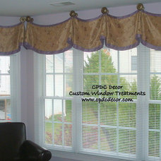 Traditional  by CPDC Decor Custom Window Treatments