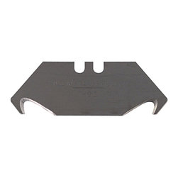 Stanley - Stanley 1996 Knife Hook Blades - Length: 2 1/16 inches Bar thickness: 0.025 inch Blade shape: Trapezoid
