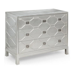 Bassett Mirror - Hollywood Glam Sterling Chest - A9240 - Hollywood Glam Collection Sterling Chest