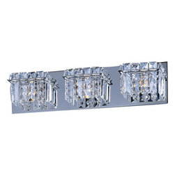 "ET2 - ET2 E23253 Bangle 20.25"" Wide 3-Bulb Bathroom Light Fixture - Product Features:"