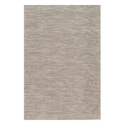 Momeni - Mesa Natural Braided 2' x 3' Momeni Rug by RugLots - Beautifully hand-woven flat-weave designs capture the natural colors of wool in the well-crafted Mesa collection. Each rug possesses the unique characteristic to be reversible, adding to the collections design versatility. Showcasing the many textures of natural wool, Mesa adds a sense of casual comfort and organic sensibility to any environment. Made in India using 100% wool.