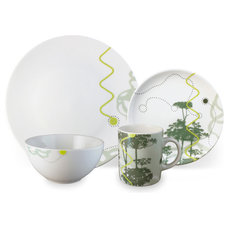 Contemporary Dinnerware Sets by InkDish