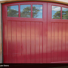 Beach Style Garage Doors by Ranch House Doors