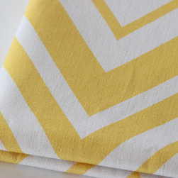 PURE Inspired Design - Organic Fabric - Chevron { PURE Beach Collection } - 100% certified organic fabric (cotton canvas 8oz), which is grown, woven, and printed in the USA.