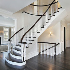 Traditional Staircase by LA Design Build