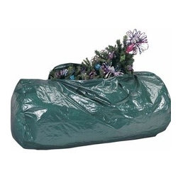 Ricahrds Homwares - Holiday PE Christmas Tree Storage Bag - Richards Homewares - 4560 Features: -PE tarpaulin.-Two handles make transporting this bag very easy. Color/Finish: -Color: Green. Collection: -Holiday Storage collection.