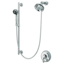 Contemporary Showerheads And Body Sprays by PlumbingDepot