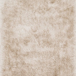 """Loloi Rugs - Loloi Rugs Orian Shag Collection - Beige, 3'-6"""" x 5'-6"""" - A luxe, head-turning series of shag rugs, Orian is hand-tufted in China of 100% polyester for great durability and exceptional softness. The densely packed yarns also make Orian a wonderful spot for bare feet too."""