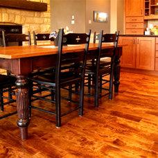 Modern Wood Flooring by Logs End Inc