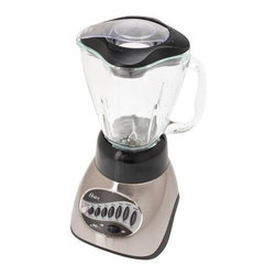 SUNBEAM RIVAL - Electric Blender 12-Speed Chrome - Features: