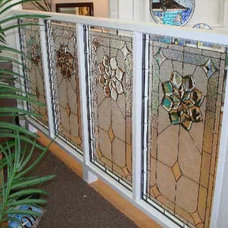 Traditional Home Decor Beveled glass dividers