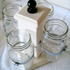 Contemporary Kitchen Canisters And Jars by Etsy