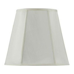 CAL Lighting - CAL Lighting 14 in. Eggshell Fabric Empire Lamp Shade SH-8107/16-EG - Shop for Lighting & Fans at The Home Depot. This durable fabric shade is a good addition to any decor. It features a round drum shape with visible trim. Simple in design, it works well any many styles and finishes.