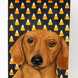 Caroline's Treasures - Dachshund Candy Corn Halloween Portrait Michelob Ultra Koozies for slim cans - Dachshund Candy Corn Halloween Portrait Michelob Ultra Koozies for slim cans LH9053MUK Fits 12 oz. slim cans for Michelob Ultra, Starbucks Refreshers, Heineken Light, Bud Lite Lime 12 oz., Dry Soda, Coors, Resin, Vitaminwater Energy, and Perrier Cans. Great collapsible koozie. Great to keep track of your beverage and add a bit of flair to a gathering. These are in full color artwork and washable in the washing machine. Design will not come off.