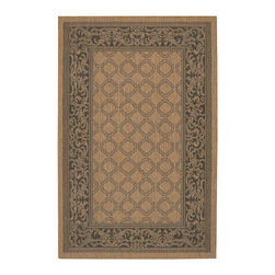 """Couristan - Recife Garden Lattice Rug 1016/2000 - 2'3"""" x 11'9"""" - These weather-defying area rugs are suitable for indoor and outdoor use. You'll love the way they color-coordinate with today's most popular outdoor furniture pieces. The collection's naturally inspired color palette will provide a warmer and more inviting appearance for patio decks and stone entryways."""