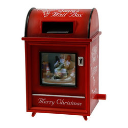 Winward Designs - Mailbox Music Box - A popular item, this music box plays a mix of Christmas tunes. Play this all night long during Christmas Eve!